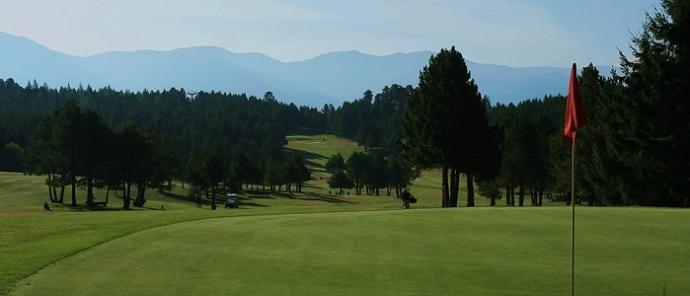 Golf Font Romeau